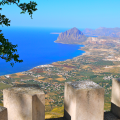 Tour della Sicilia -Panorama di Erice – Typical Sicily