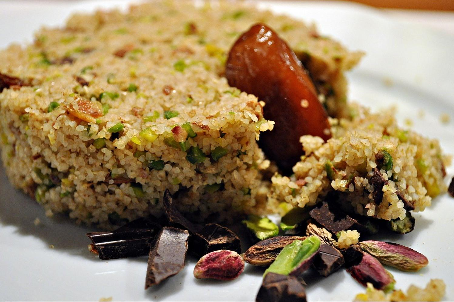 Agrigento - cous cous dolce
