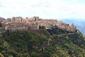 Guide turistiche - Veduta di Enna - Typical Sicily