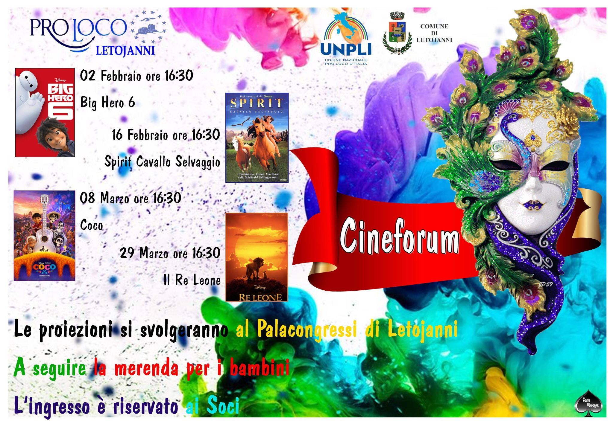 Evento a Letojanni - Cineforum